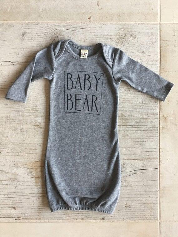 Baby Bear Sleep Sack, Gender Nuetral Sleeper