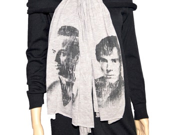 Sherlock and Moriarty Fashion Scarf, Multiple Colors Available