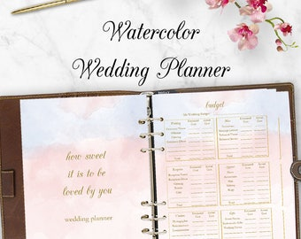 Ultimate Wedding Planner Printable Template Wedding Planning