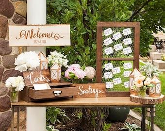 Welcome Wedding Set Vinyl
