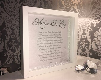 Mother in law wedding frame