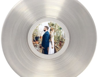 Wedding Song Vinyl Record with Labels