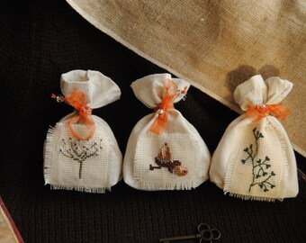 SALE Set of pouches (seeds and nuts)