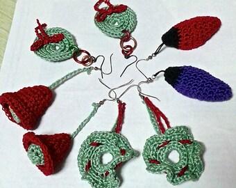 Holiday Festive Earrings