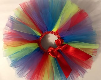 Tulle Tutu - Custom Tutu - Girls Tutu - Baby Tutu - Newborn Tutu - Toddler Tutu - Birthday Tutu - Custom Color Tutu - Baby Shower Gift