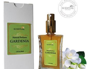 ON SALE Organic Gardenia Perfume Oil, Natural Gardenia Perfume, Vegan Perfume, Natural Perfume Oil, Gift Idea