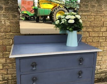 A Hand Painted Vintage Dressing Table.