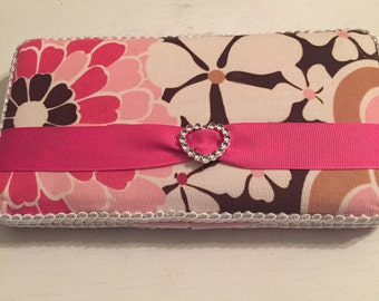 Altered diaper wipes case