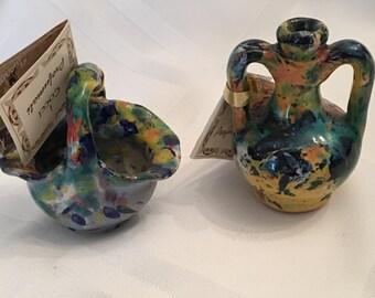 Vintage I Cocci Profumati Miniature Pottery - Made in Italy