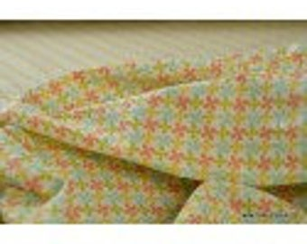 drawing kebull printed cotton Poplin fabric mixed x50cm