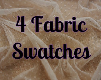 4 Sample Swatches - Choose any 4 of our fabrics as a sample swatch. Perfect for matching colours