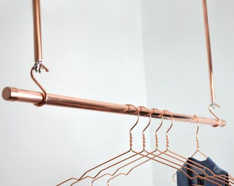 Modern interior design shopping guide etsy for Kleiderstange wand