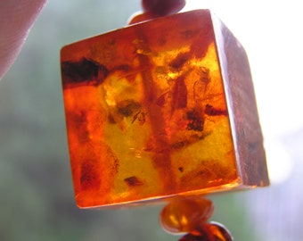 Russian Huge Baltic Amber Necklace - 83,6g