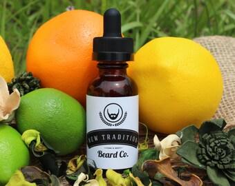 Citrus Dream Beard Oil 30 ml. 10 ml. 1 Oz. 1/3 Oz.