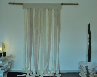 rideaux pastel etsy. Black Bedroom Furniture Sets. Home Design Ideas