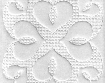 Hearts Quilt block, Trapunto, Quilting Embroidery, Hearts Embroidery, Machine embroidery design, Instant download