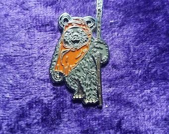 Dancing Bear Ewok Hat Pin