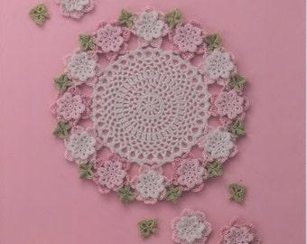 Asahi crochet motif patterns- japanese ebook