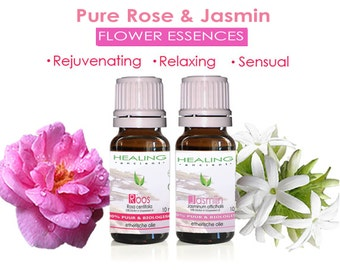 Pure essential oil Rose & Jasmine