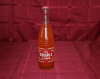 The Double Line Cola Bottle - Bottled in Winston Salem, NC - Seminole Flavor Co