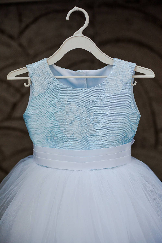 White princess tulle dress light blue dress flower girl dress white princess tulle dress light blue dress flower girl dress junior bridesmaid wedding party dress ombrellifo Gallery