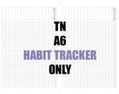 TN A6 Habit Tracker Insert