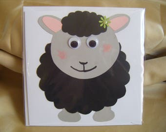 Mr and Miss Sheep Cards