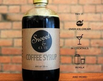 Sweet & Cute Coffee Syrup