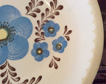 Vintage Royal China by Jeannette Corporation RYL163 Ceramic Pasta Serving Bowl