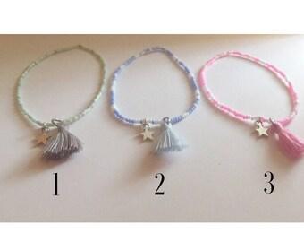 Summer Tassle Bracelet - Choose one!