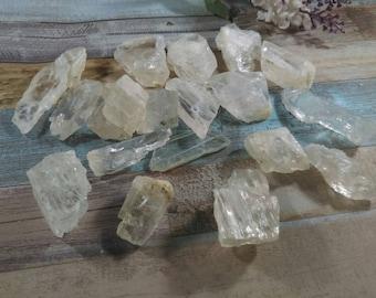 Clear Petalite raw crystal petalite Crystal healing crystal petalite natural petalite Brazil  rough crystal petalite genuine petalite