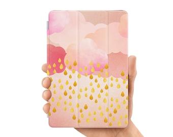 ipad pro 9.7 case smart case cover for ipad mini air 1 2 3 4 5 6 pro 9.7 12.9 retina display rain drop