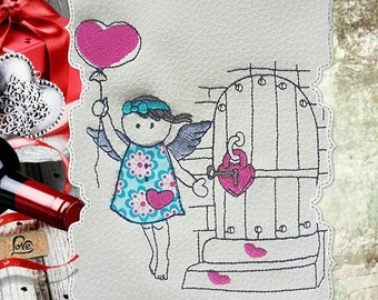 Embroidery file * MissLee6 & love * 10 pieces (10 x 10 up to 20 x 30 frame)