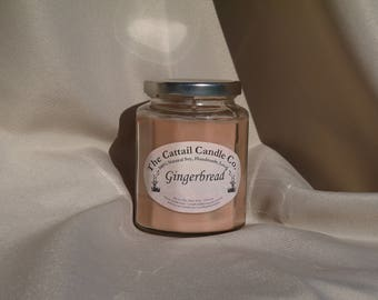 Gingerbread - 100% Soy Candle, 12 fl oz