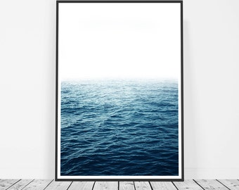 Photography, Art Print, Ocean Print, Ocean Photography Print, Large Wall Art, Ocean Wall Art, Blue Wave Print, Water Print, Ocean Art Print