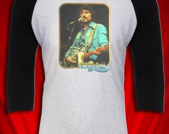 Waylon Jennings 1977 Vintage in Concert Tee T-SHIRT Good Ol Boys