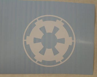 Star Wars Galactic Empire Decal Any Size Any Colors