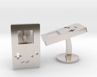 Gameboy Cufflinks | Wedding Geek & Gaming Cuff links | Available as Sets