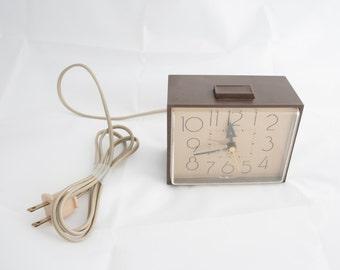 "Vintage Westclox ""Drowse"" Dialite Alarm Clock"