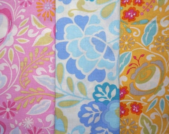 Taza by Dena for Free Spirit Fabrics - Quarter Yard Bundle - 3 pieces