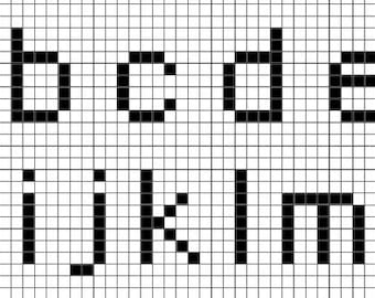 The World Ends With You Font Pattern
