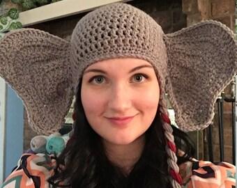 Elephant Hat Crochet Pattern