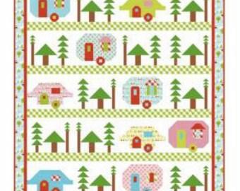 Trailerville Quilt Pattern from Kelli Fannin Quilt Designs
