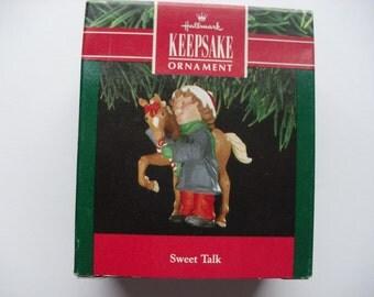 Hallmark ornament - Sweet Talk