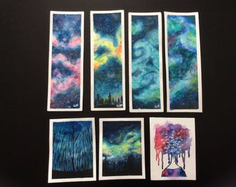 Galaxy Bookmarks and Cards