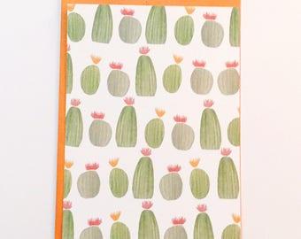 Cactus Stationary - Flat Card Set
