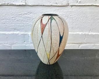 Vintage Retro Mid Century Ruscha Flower Vase