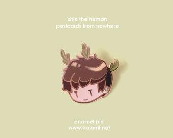 Postcards from Nowhere Shin Enamel Pin