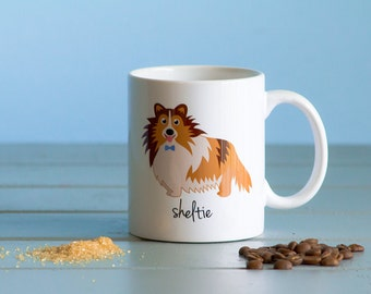 Sheltie Mug (boy)