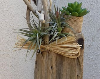 Decorative drift wood, handmade.